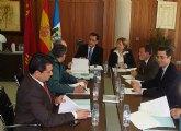 El delegado del Gobierno preside la constitución de la nueva Junta Local de Seguridad