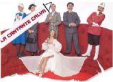La Cantante Calva, en el Teatro forum de la Escuela Municipal de Teatro
