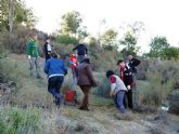 Plantadas más de 150 especies autóctonas en el Cabezo del Santo y el Molinete