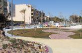 Recta final para las obras del nuevo Parque Público Reina Sofía que ofrecerá más de 14.000 metros cuadrados de zonas verdes y juegos infantiles en el centro urbano