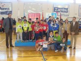 """San Pedro del Pinatar acoge la final regional del campeonato escolar """"Jugando al atletismo"""" benjamín"""
