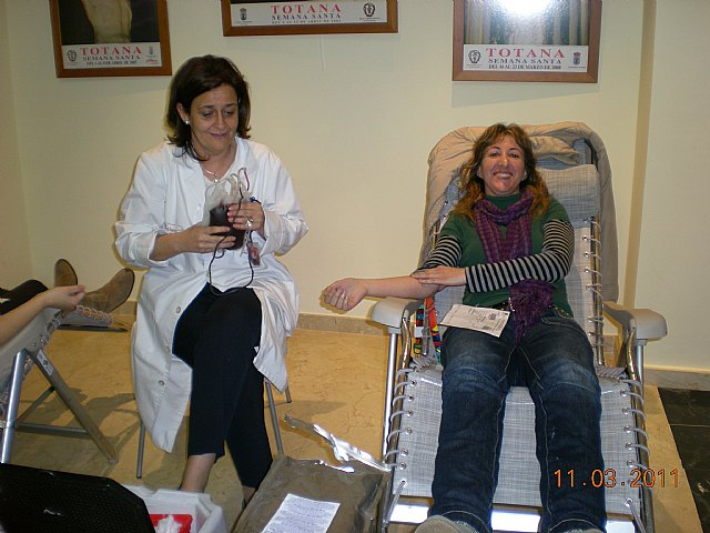 The blood donation campaign II organized by the Illustrious Cabildo was a success