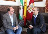 Se reúnen los alcaldes de Huercal Overa y Puerto Lumbreras para impulsar proyectos comunes