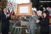 La alcaldesa y el consejero de Cultura y Turismo hacen entrega del del título de Fiesta de Interés Turístico Regional a la Semana Santa de Totana