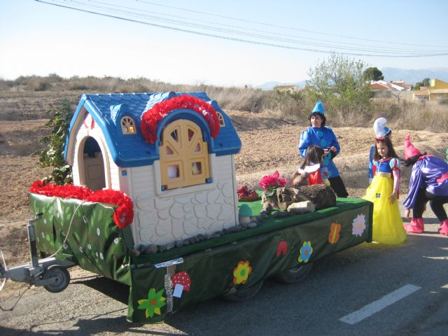 """Students of the Infant School and College """"Guadalentín"""" of the Paretón-Cantareros were the protagonists of carnival fun"""