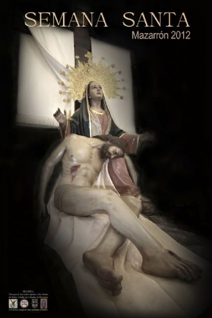 La Piedad de la Cofradia de San Juan ilustra la Semana Santa de Mazarrón, Foto 3