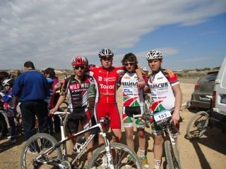 Good results for the CC Santa Eulalia in the Murcia Open MTB