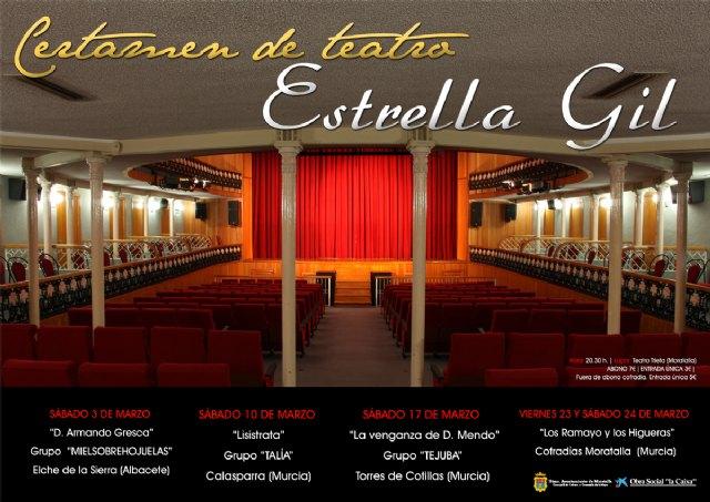 """Presentación de I Certamen de Teatro """"ESTRELLA GIL"""" y de la Exposición de Fotografía Antiguas """"MORATALLERAS"""" - 1, Foto 1"""