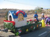 Los alumnos de la Escuela Infantil y del Colegio 'Guadalentín' de el Paretón-Cantareros fueron los protagonistas del divertido desfile de carnaval