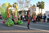 El desfile de Carnaval batió su récord con 2.500 personas en un desfile histórico