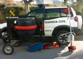 La Guardia Civil detiene a cinco personas por la comisión de robos con fuerza en fincas y residencias rurales