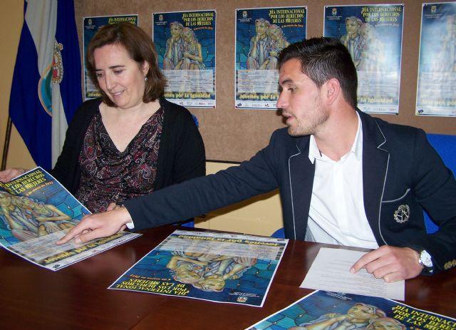 El Ayuntamiento de Águilas presenta los actos conmemorativos del 'Día Internacional por los Derechos de las Mujeres' - 1, Foto 1