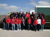 Los alumnos del taller de empleo visitan un ecoparque y el centro de gestión de residuos