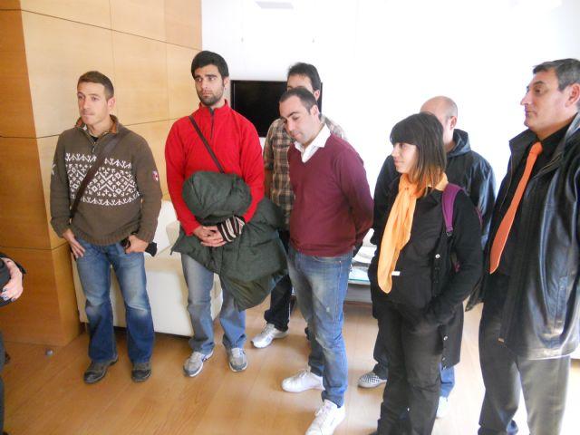 Alumnos de la Escuela Universitaria de Turismo de Cartagena visitan Totana, Foto 2