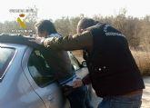 La Guardia Civil detiene a dos personas relacionadas con robos en interior de vehículos de Cieza