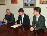 El Ayuntamiento de Alhama firma un convenio con la Universidad Polit�cnica de Cartagena