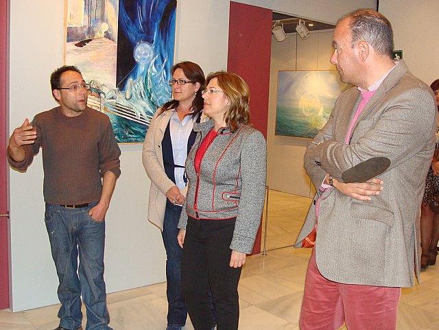 """El aula cultural de Cajamurcia muestra la exposición """"arte por la vida"""" del pintor Juan José Muñoz - 1, Foto 1"""