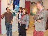 """El aula cultural de Cajamurcia muestra la exposición """"arte por la vida"""" del pintor Juan José Muñoz"""