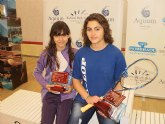 La pinatarense Cristina Gómez se proclama campeona de España de Squash sub 15