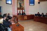 El delegado del gobierno en la región de Murcia visitó alcantarilla en la mañana de hoy