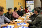 El Alcalde se reúne con la Confederación de Empresarios ASEPLU para planificar medidas que favorezcan el desarrollo empresarial en el municipio