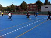 Los institutos de Mazarr�n arrasan en la jornada de f�tbol sala de deporte escolar