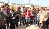 Más de 500 mujeres de Fuente Álamo celebran el Día de la Mujer Trabajadora con una visita turística a Puerto Lumbreras