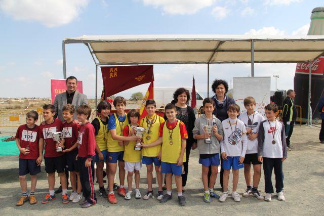 Puerto Lumbreras acoge la final regional de campo a través de deporte en edad escolar Alevín-Benjamín con más de 800 deportistas de colegios de la Región de Murcia - 1, Foto 1