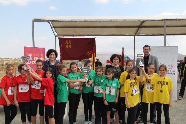 Puerto Lumbreras acoge la final regional de campo a través de deporte en edad escolar Alevín-Benjamín con más de 800 deportistas de colegios de la Región de Murcia - 2, Foto 2