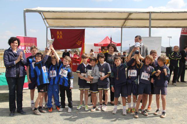 Puerto Lumbreras acoge la final regional de campo a través de deporte en edad escolar Alevín-Benjamín con más de 800 deportistas de colegios de la Región de Murcia - 4, Foto 4