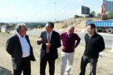 Iniciadas las obras de construcción de una nueva rotonda de acceso a las urbanizaciones molinenses de La Alcayna y Altorreal desde el municipio de Murcia