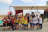 Puerto Lumbreras acoge la final regional de campo a través de deporte en edad escolar Alevín-Benjamín con más de 800 deportistas de colegios de la Región de Murcia
