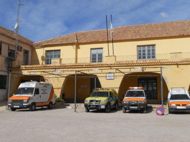 La Guardia Civil se traslada a partir de esta semana a unas dependencias cedidas por el ayuntamiento al Ministerio del Interior en el antiguo Instituto de Totana, Foto 1