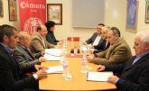 El Ayuntamiento y la Cámara de Comercio colaborarán en el diseño de un nuevo Plan para el Fomento del Comercio en Puerto Lumbreras