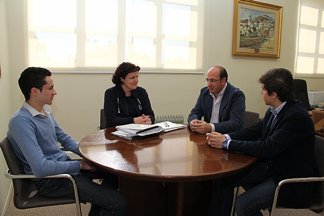El Alcalde de Puerto Lumbreras recibe a los novilleros Cristian López y Francisco Carrillo El Torro - 2, Foto 2