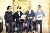 El Alcalde de Puerto Lumbreras recibe a los novilleros Cristian López y Francisco Carrillo 'El Torro'
