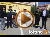 Protección Civil cede dos motocicletas a Policía Local para ampliar el parque móvil de los efectivos que patrullan por el casco urbano