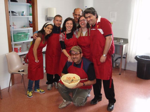 Usuarios del Servicio de Apoyo Psicosocial reinician su taller de cocina semanal en las instalaciones del Centro Polivalente para la Discapacidad, Foto 2