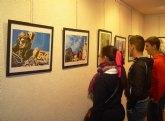 El aula de Cajamurcia acoge una exposición fotográfica dedicada a la Semana Santa de Cieza