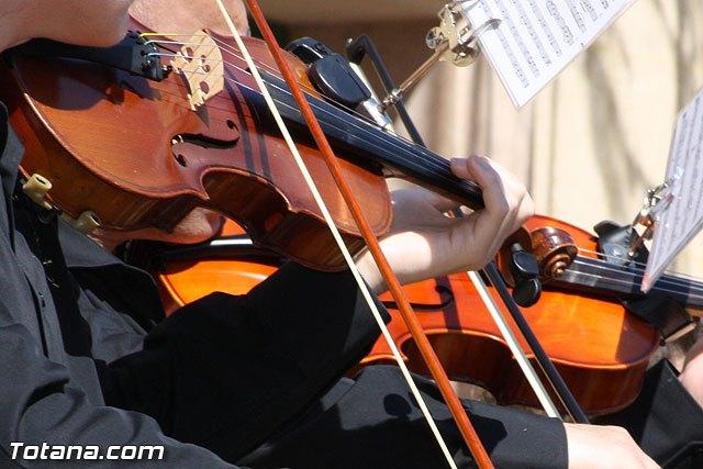 La orquesta de La Dolorosa ofrecer� esta noche un concierto en el Convento, Foto 1