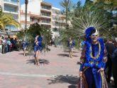 El desfile de San Jos� llena de color y gente las calles del Puerto