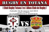 Partido Club de Rugby de Totana Vs. Albox Rugby Club