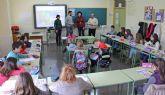 Comienza la campaña 'Crece en Seguridad' en la que 200 alumnos de los colegios de Puerto Lumbreras adquieren hábitos de conducta saludables