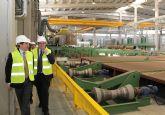 El Alcalde y miembros del Equipo de Gobierno visitan las instalaciones de la Factoría  multinacional de metalurgia Noksel