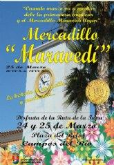 """El mercadillo """"Maravedí"""" vuelve por primavera el próximo 25 de marzo"""
