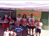Ganadores de los torneos de tenis y p�del de las fiestas de San Jos�