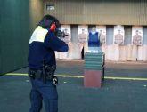 La Policía Local prueba los nuevos chalecos antibala