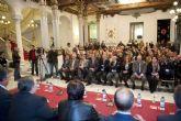 Fulgencio Cervantes recoge encantado el premio Procesionista del Año
