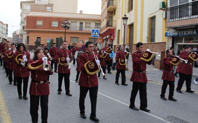 El décimo Encuentro Juvenil de Bandas de Tambores y Cornetas congregó a más de 200 músicos integrantes de bandas de la Región de Murcia y Andalucía - 1, Foto 1