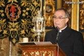 La Semana Santa de Totana, declarada de Interés Turístico Regional, comienza su cuenta atrás con la pronunciación del Pregón